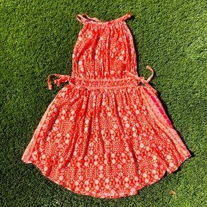 Free People Pattern Summer Dress Sz S